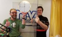 Radiodj's RTV Apeldoorn maken avondklokradiomarathon
